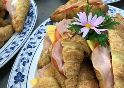 breakfast croissant catering