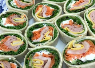 salad roll corporate catering