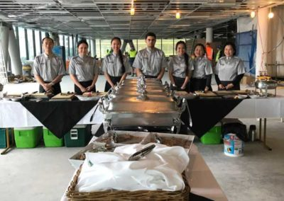 Baxters catering team buffet catering