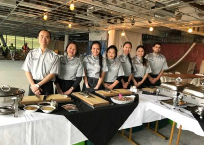 Baxters catering team