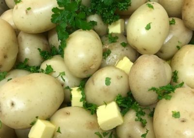 new potatoes wellington caterers