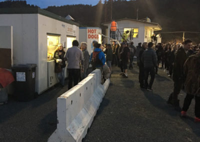 food truck catering at out door event