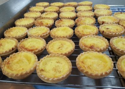 lemon tarts with catering