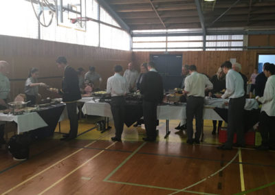 school hall catering wellintgton