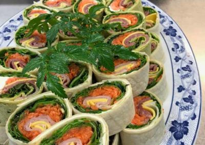 salad roll catering