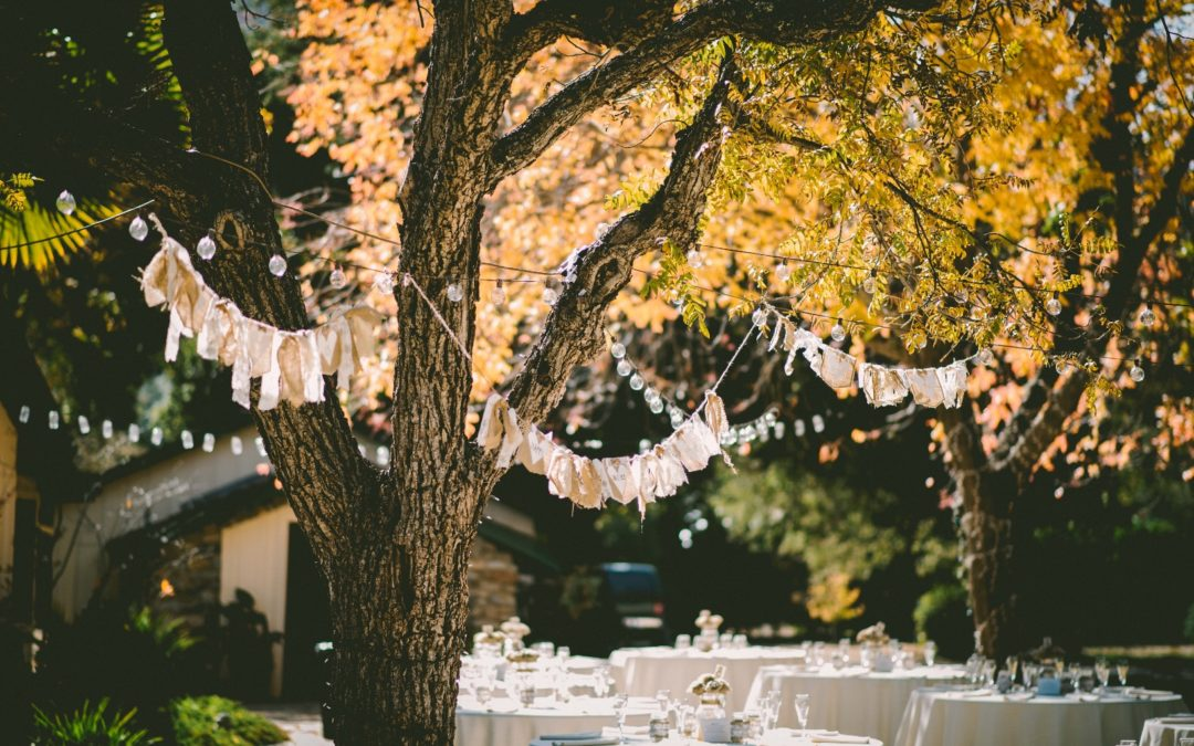 Catering an Outdoor Wedding: 3 Expert Tips